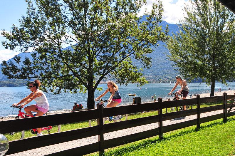 Camping Le Vele Domaso lac de Côme